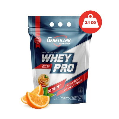 Протеин Geneticlab Nutrition WHEY PRO 2100 г