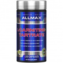 Л-Карнитин Allmax Nutrition L-Carnitine L-Tartrate + Vitamin B5 1000 мг 120 кап