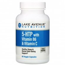Витамины Lake Avenue Nutrition 5-HTP with Vitamin B6 & Vitamin C 60 капсул