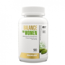 Витамины Maxler Balance For Woman 90 капс